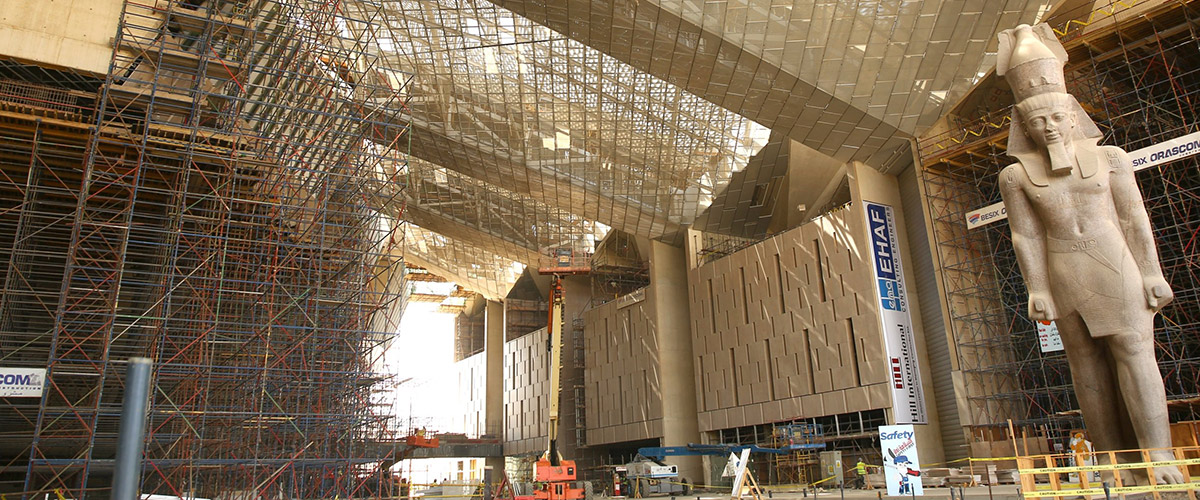 The Grand Egyptian Museum - Giza